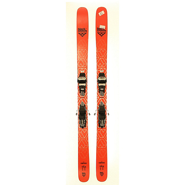 Used 2019 Black Crows Camox Skis with Marker FDT12 Bindings (C Cond.), , 600