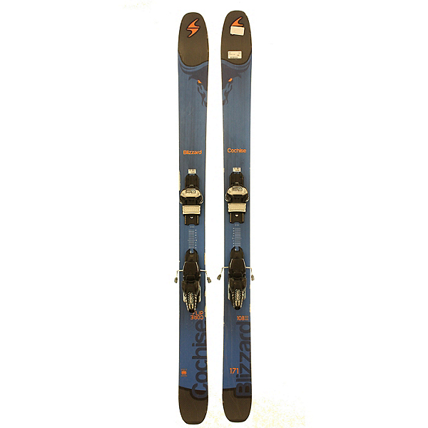 Used 2017 Blizzard Cochise with Marker Bindings (C Condition), , 600