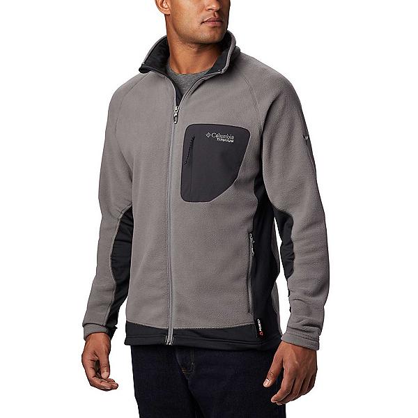 Columbia Titan Pass 2.0 II Fleece Mens Mid Layer, Black, 600