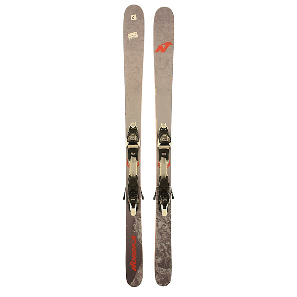 Used 2017 Nordica Enforcer 93 skis with Marker FDT 12 Bindings (C Condition) Skis, , 600