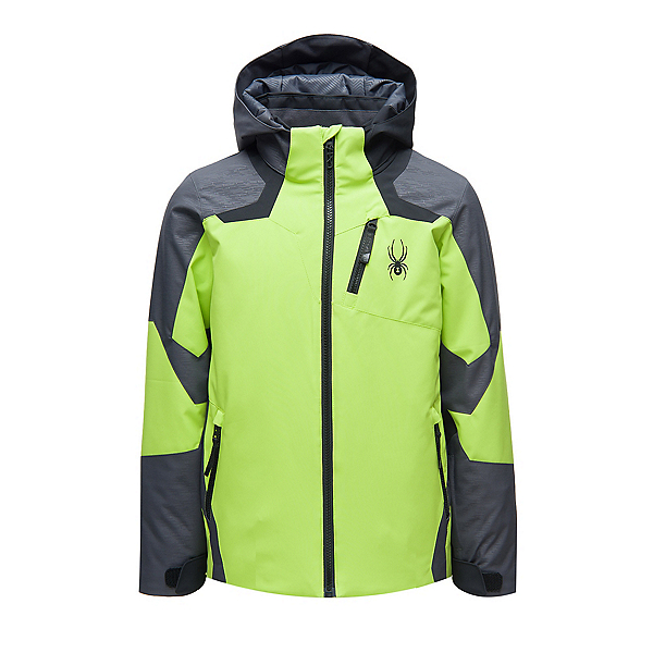 Spyder Leader Boys Ski Jacket, Mojito, 600