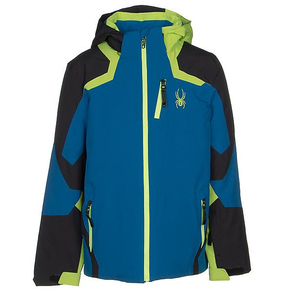 Spyder Leader Boys Ski Jacket 2020, Old Glory, 600