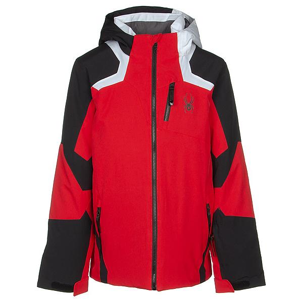 Spyder Leader Boys Ski Jacket 2022, Volcano, 600