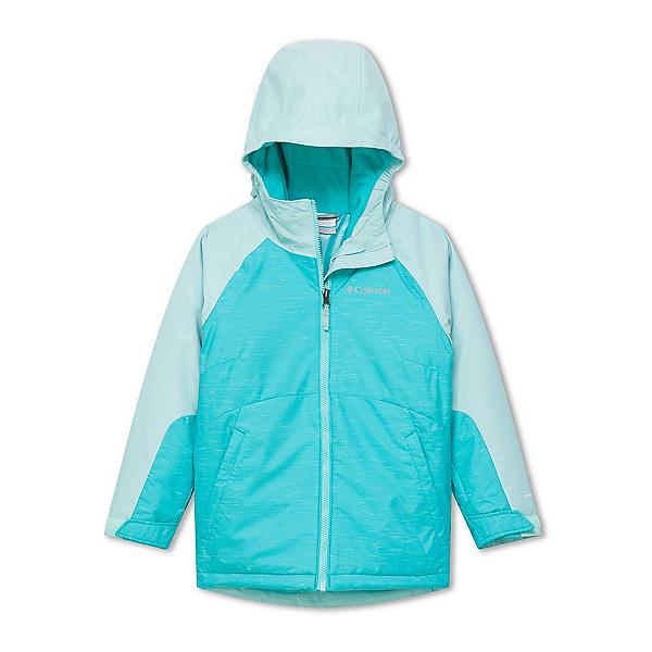 Columbia Alpine Action II Toddler Girls Ski Jacket, Geyser-Spray, 600