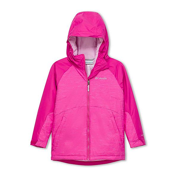 Columbia Alpine Action II Toddler Girls Ski Jacket 2020, Pink Ice-Pink Clover, 600