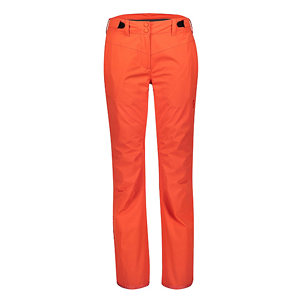 Scott Ultimate Dryo 10 Womens Ski Pants, Grenadine Orange, 600