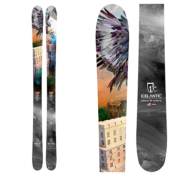 Icelantic Nomad 95 Skis 2020, , 600