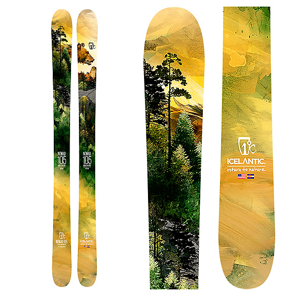 Icelantic Nomad 105 Skis 2020, , 600