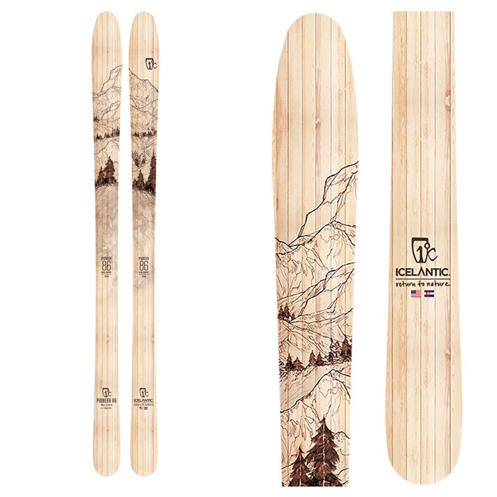 Icelantic Pioneer 86 Skis 2020 im test
