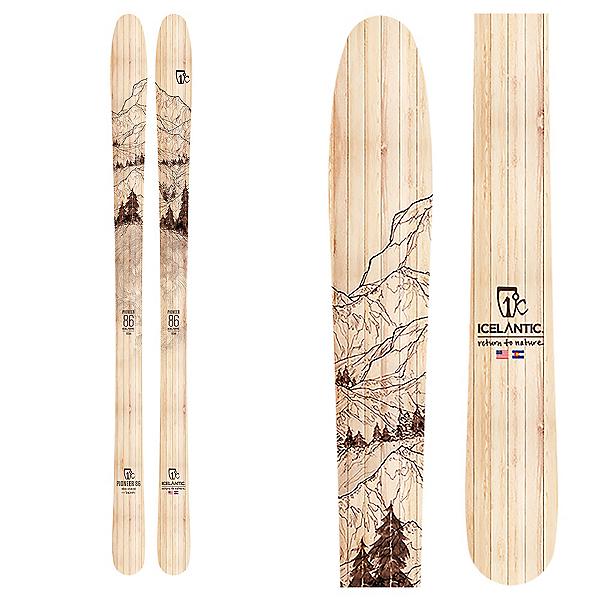 Icelantic Pioneer 86 Skis 2020, , 600