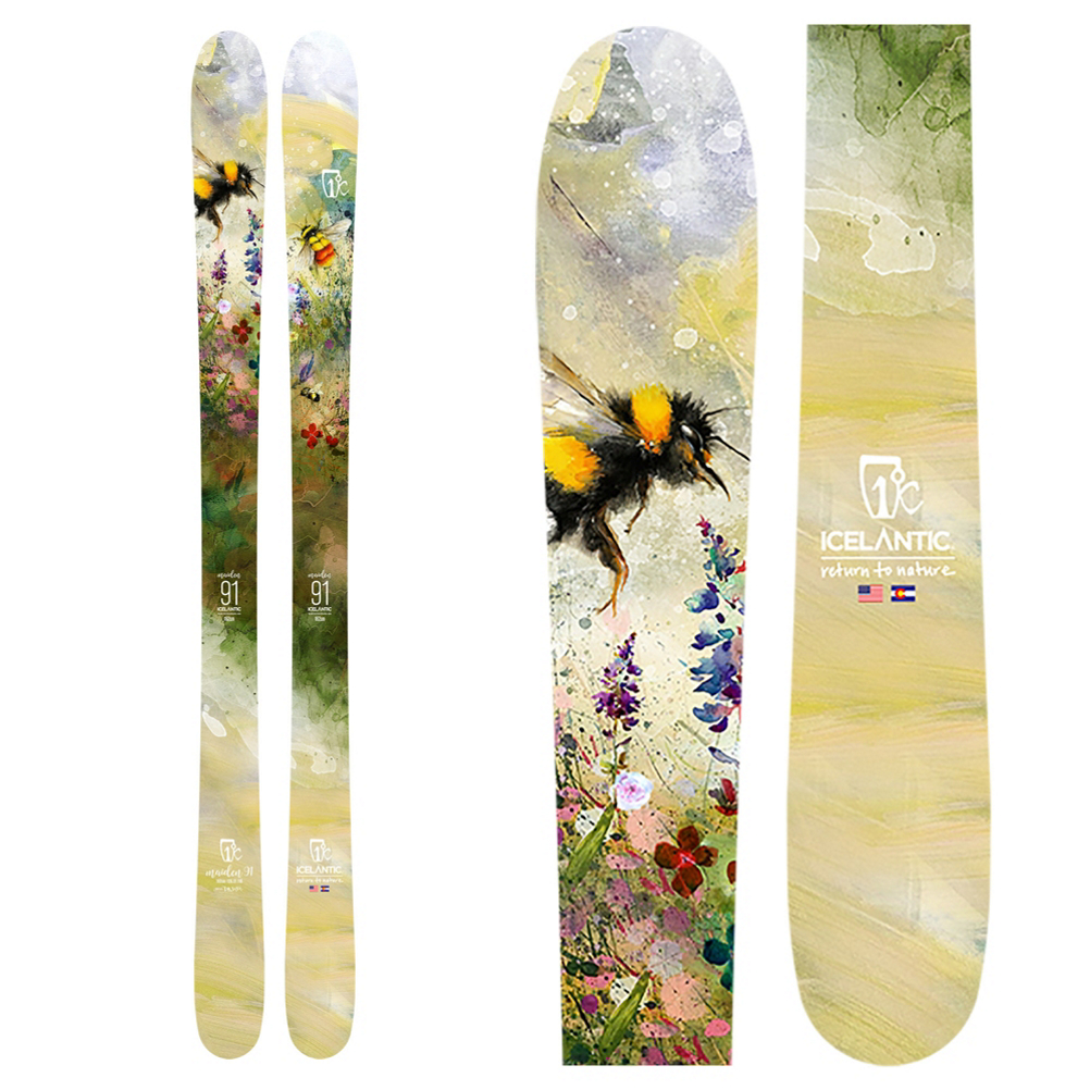 Icelantic Maiden 91 Womens Skis 2020 im test