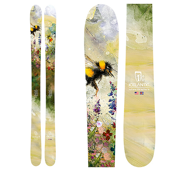 Icelantic Maiden 91 Womens Skis 2020, , 600
