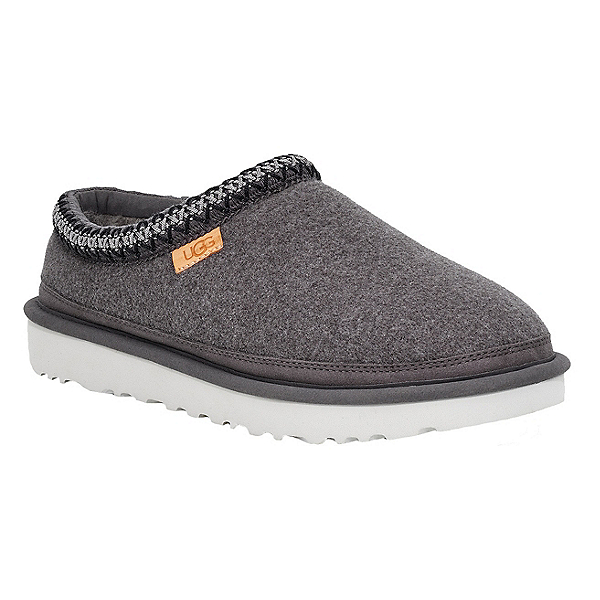 UGG Tasman Wool Mens Slippers, Grey, 600