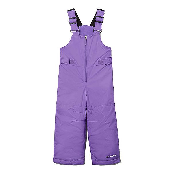 Columbia Snowslope II Bib Toddler Girls Ski Pants, Grape Gum, 600
