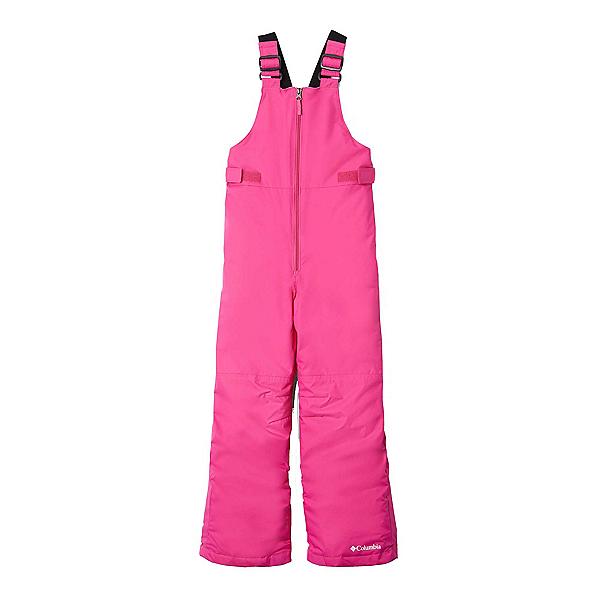 Columbia Snowslope II Bib Toddler Girls Ski Pants 2020, Pink Ice, 600