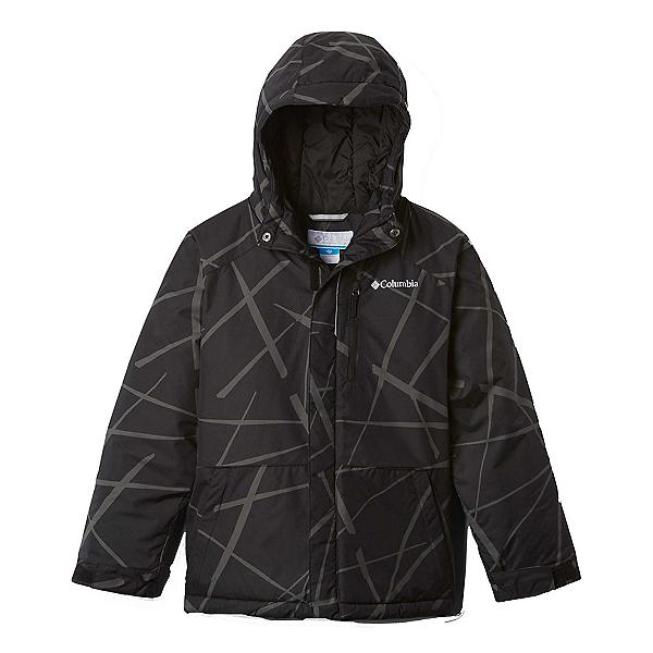 Columbia Lightning Lift Toddler Ski Jacket, Black Spider Streets, 600