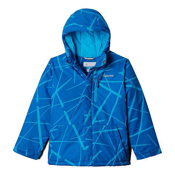 Columbia Lightning Lift Toddler Ski Jacket 2020, Ocean Blue Spider Streets, 600