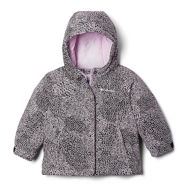 Columbia Horizon Ride Toddler Girls Ski Jacket, Pink Clover Doodle, 600