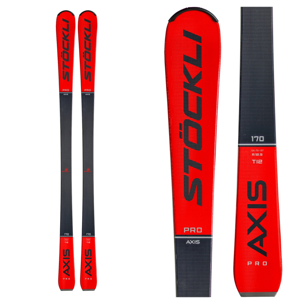 Stockli Axis Pro Skis with MC 12 Bindings