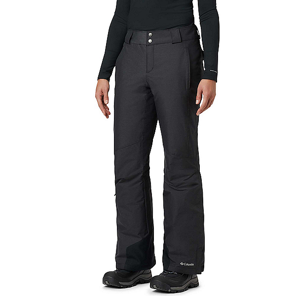 Columbia Omni-Heat - Short Womens Ski Pants, Black Crossdye, 600
