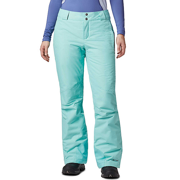 Columbia Bugaboo Omni-Heat Plus Womens Ski Pants, Aquarium, 600