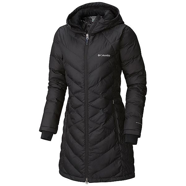 Columbia Heavenly Hooded Long - Plus Womens Jacket, Black, 600