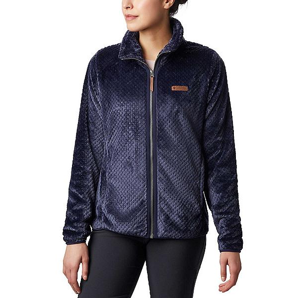Columbia Fire Side II Sherpa Full Zip Fleece Womens Jacket, Dark Nocturnal, 600