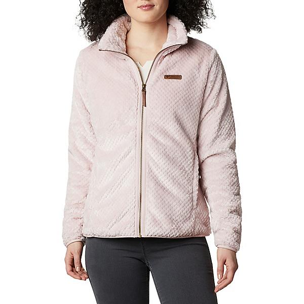 Columbia Fire Side II Sherpa Full Zip Womens Fleece Jacket 2021, Mineral Pink, 600