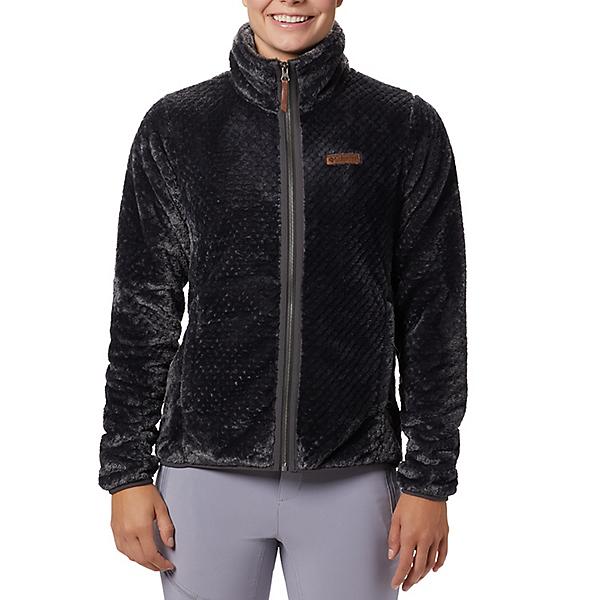 Columbia Fire Side II Sherpa Full Zip Womens Fleece Jacket 2021, Shark, 600