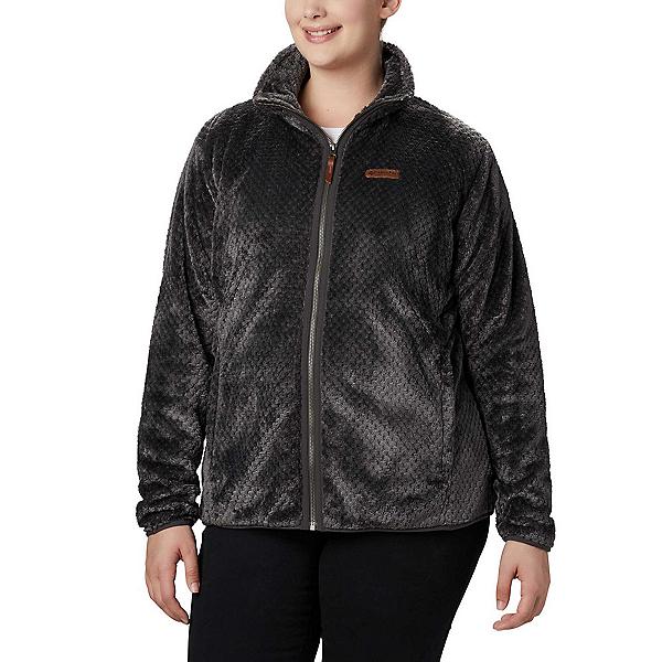 Columbia Fire Side II Sherpa Full Zip Fleece - Plus Womens Jacket, Shark, 600