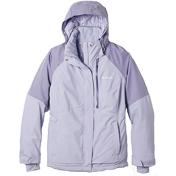 Columbia Wildside Womens Insulated Ski Jacket, Twilight-Dusty Iris Heather, 600