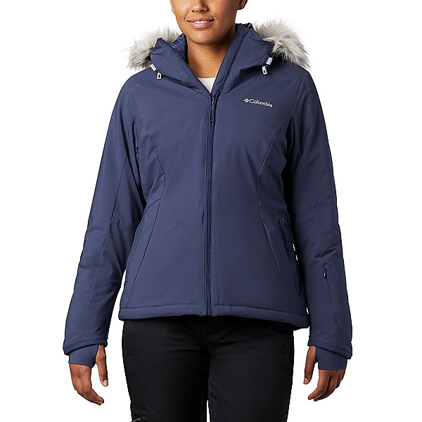 Columbia Alpine Slide Womens Insulated Ski Jacket 2020, Nocturnal-Dark Nocturnal Heath, 600