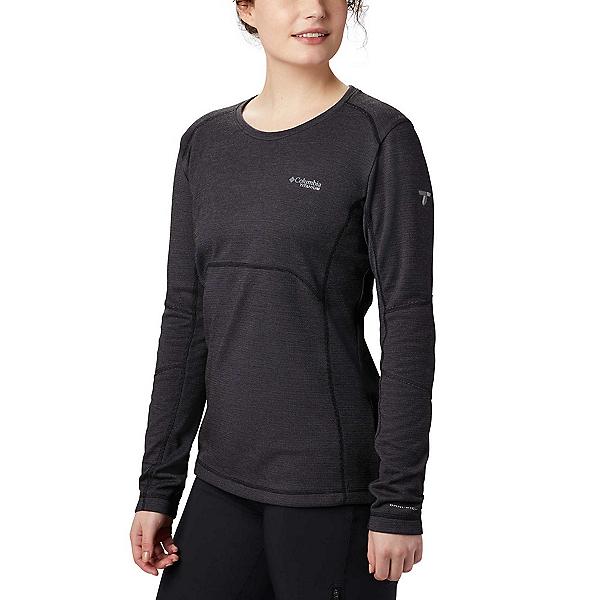 Columbia Mount Defiance Knit - Plus Size - Womens Long Underwear Top 2020, Black, 600