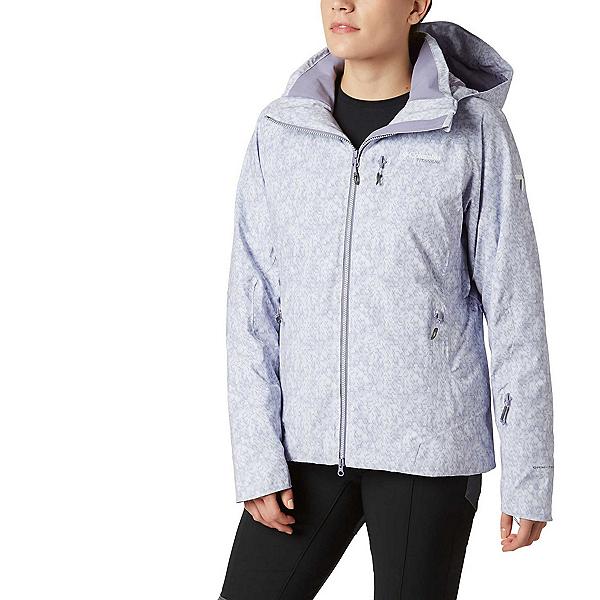 Columbia Snow Rival II - Plus Womens Insulated Ski Jacket, Dusty Iris Print, 600