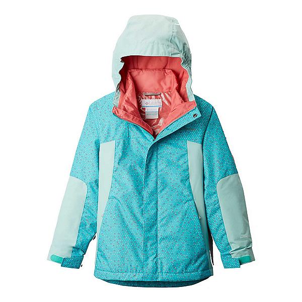 Columbia Whirlibird II Interchange Girls Ski Jacket 2020, Geyser Sparkler-Spray, 600