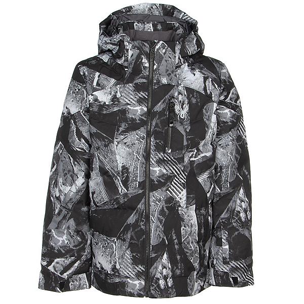 Spyder Impulse Synthetic Down Boys Ski Jacket, Frozen In Time, 600