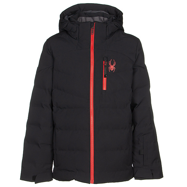 Spyder Impulse Synthetic Down Boys Ski Jacket 2020, Black, 600