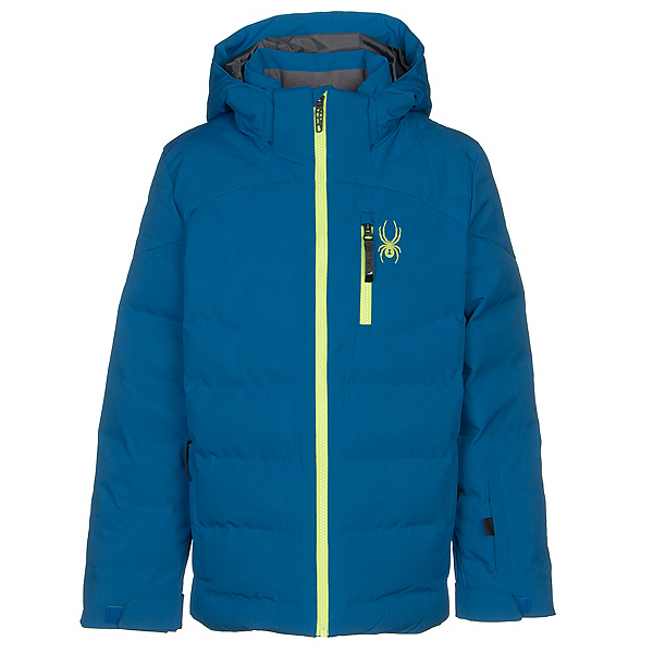 Spyder Impulse Synthetic Down Boys Ski Jacket 2020, Old Glory, 600