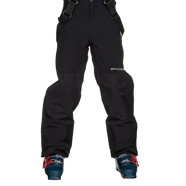 Spyder Guard Side Zip Kids Ski Pants, Black, 600