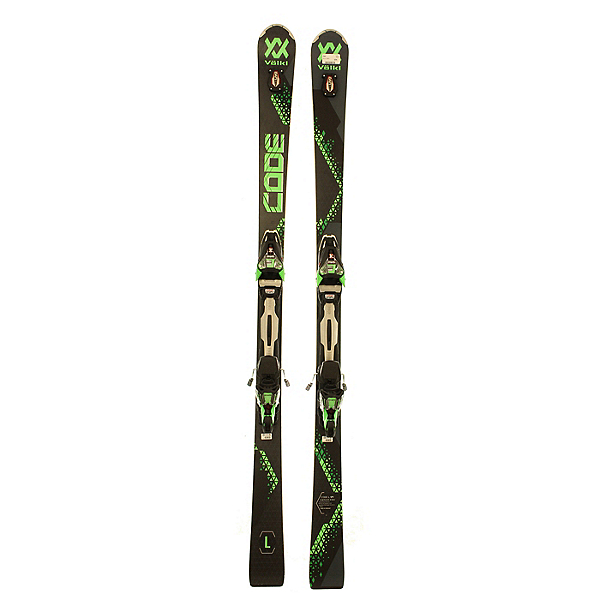 Used 2018 Volkl Code L Skis with Marker Motion bindings (A Condition), , 600