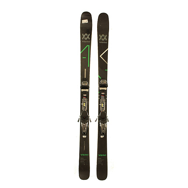 Used 2018 Volkl Kanjo Skis with Marker FDT 2 bindings (A Condition), , 600