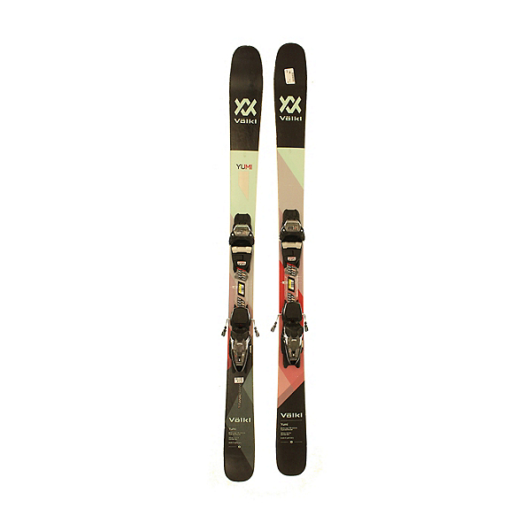 Used 2018 Volkl Yumi with Marke FDT 2 bindings(A Condition), , 600