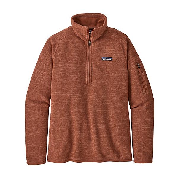 Patagonia Better Sweater 1/4 Zip Womens Mid Layer, Century Pink, 600