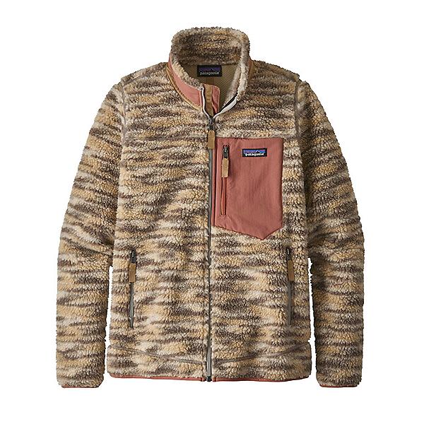 Patagonia Classic Retro X Womens Jacket, Space Dye Oatmeal, 600
