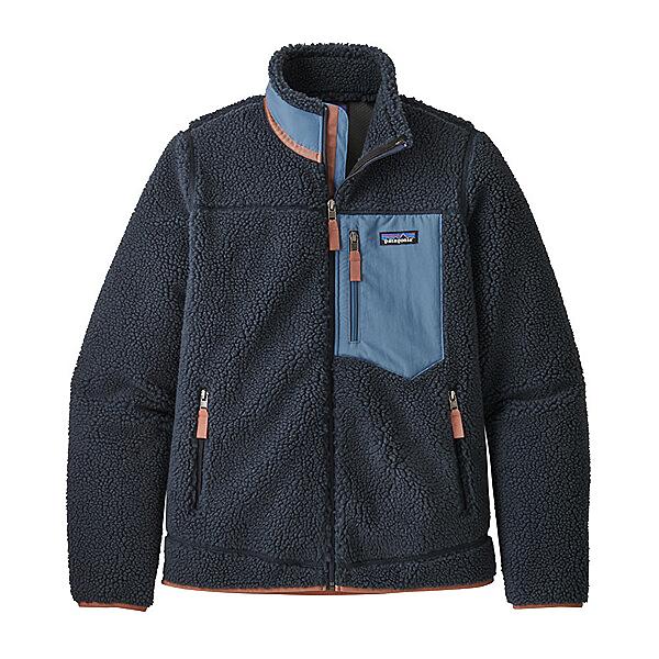 Patagonia Classic Retro X Womens Jacket, Smolder Blue, 600
