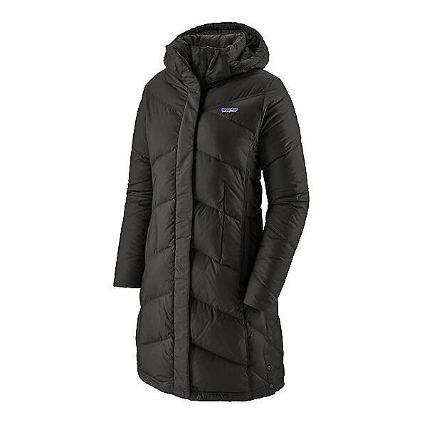 Patagonia Down With It Womens Parka, Black, 600