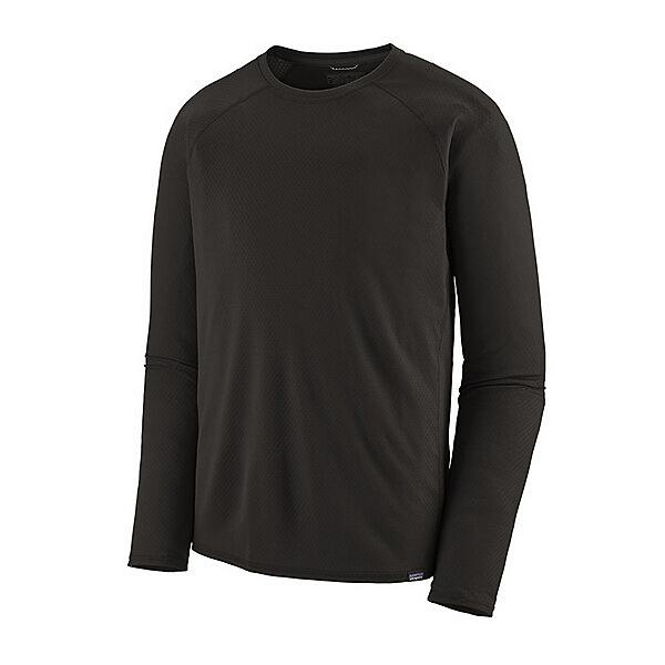 Patagonia Capliene Midweight Crew Mens Long Underwear Top, Black, 600