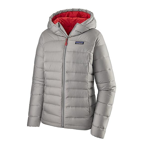 Patagonia Hi-Loft Down Hoodie Womens Jacket, Drifter Grey, 600