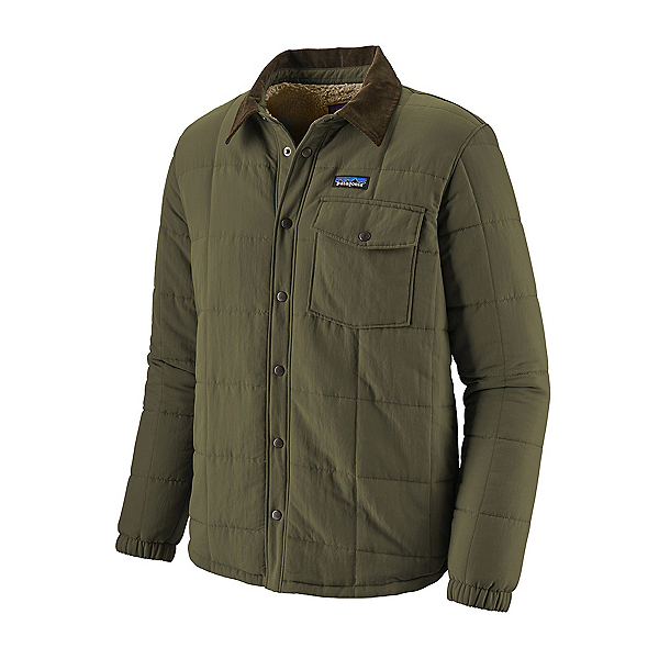 Patagonia Isthmus Quilted Shirt Mens Jacket, Industrial Green, 600