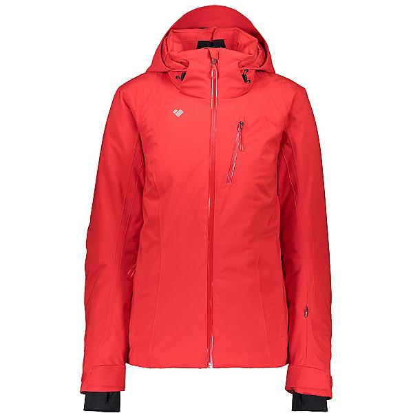 Obermeyer Jette Petite Womens Insulated Ski Jacket, Carmine, 600
